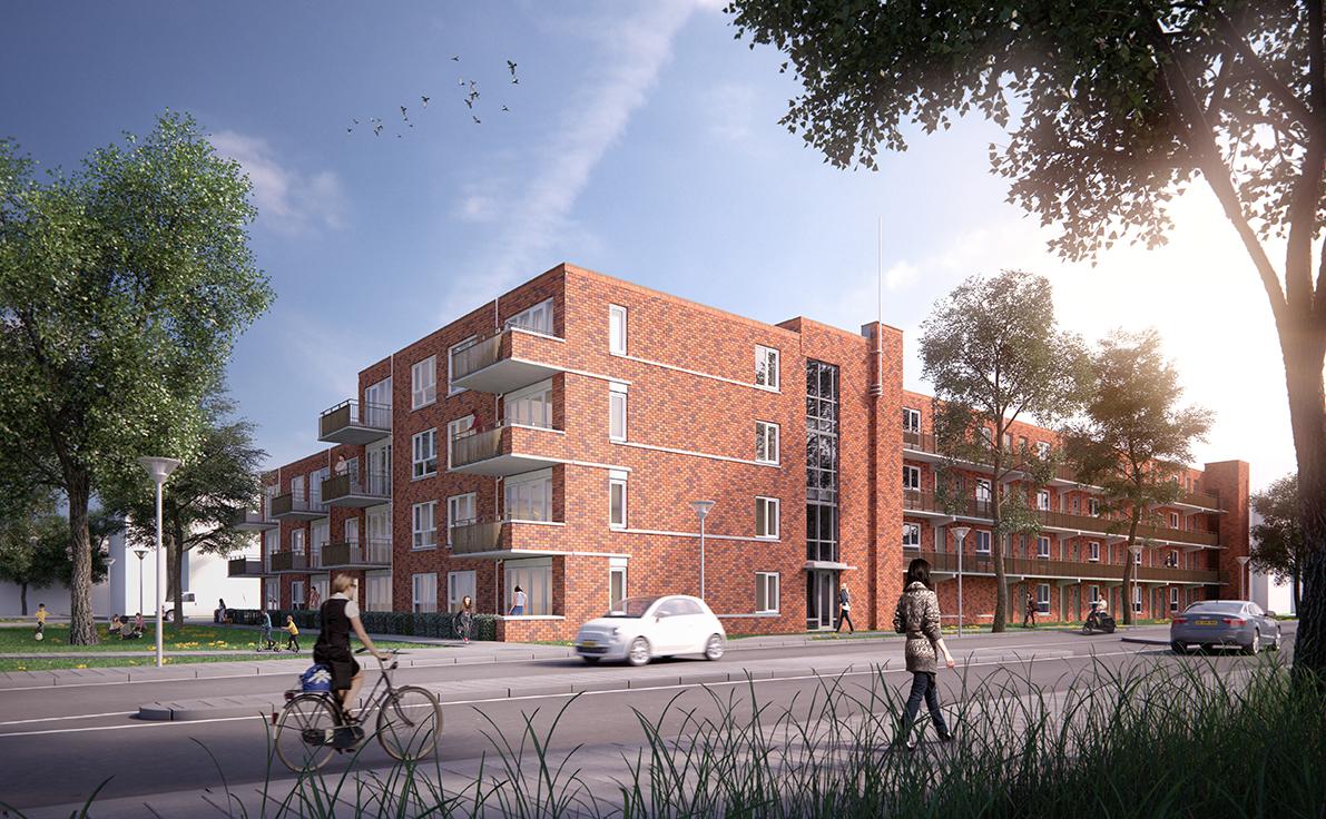 Thunnissen bouwt 40 levensloopbestendige appartementen in Nieuwegein