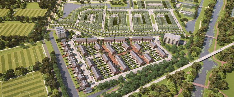 Ondertekening grondovereenkomst 380 woningen Park Harga te Schiedam