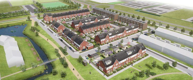 Park Harga in Schiedam: all electric woonwijk met 380 energieneutrale woningen