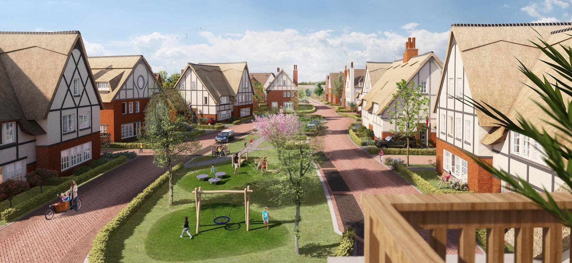 Tudor Gardens: 83 toekomstbestendige woningen in Tudorstijl