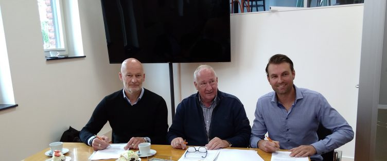 Ondertekening koopovereenkomst Benelite- locatie te Hoofddorp