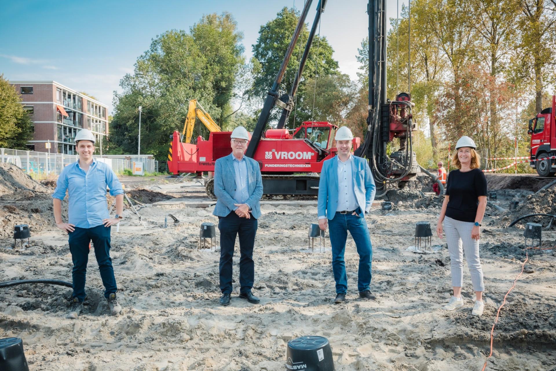 Start bouw betaalbare en duurzame appartementen aan Haverkamp