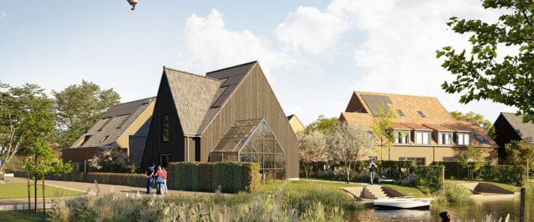 Start (online) verkoop 21 woningen in smaakvol nieuwbouwproject De Plukhoeve | De Draai in Heerhugowaard