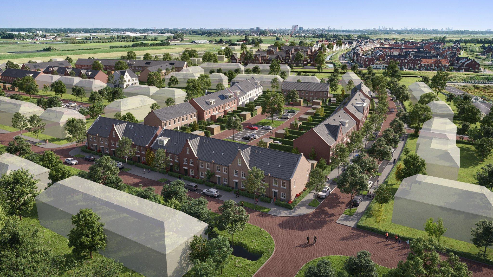 Turn-key overeenkomst getekend voor ontwikkeling en realisatie 14 sociale eengezinswoningen in Zevenhuizen-Zuid